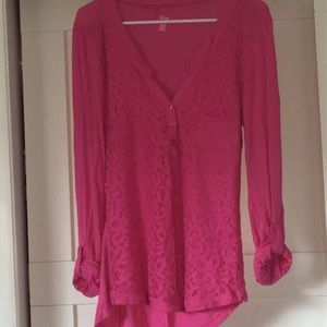 Pink A.N.A Tunic Top